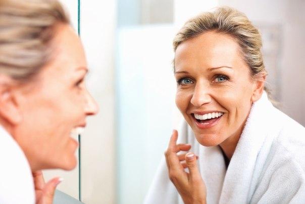 Уход за кожей лица после 40 в домашних условиях